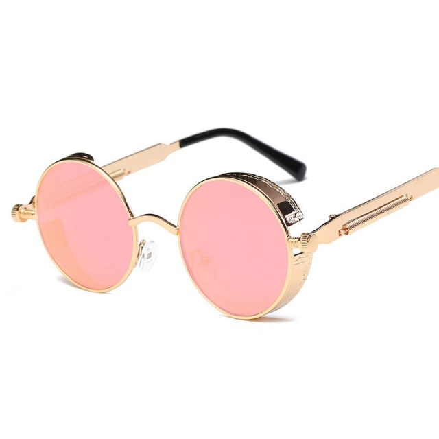Round Shaped Men's Sunglasses
